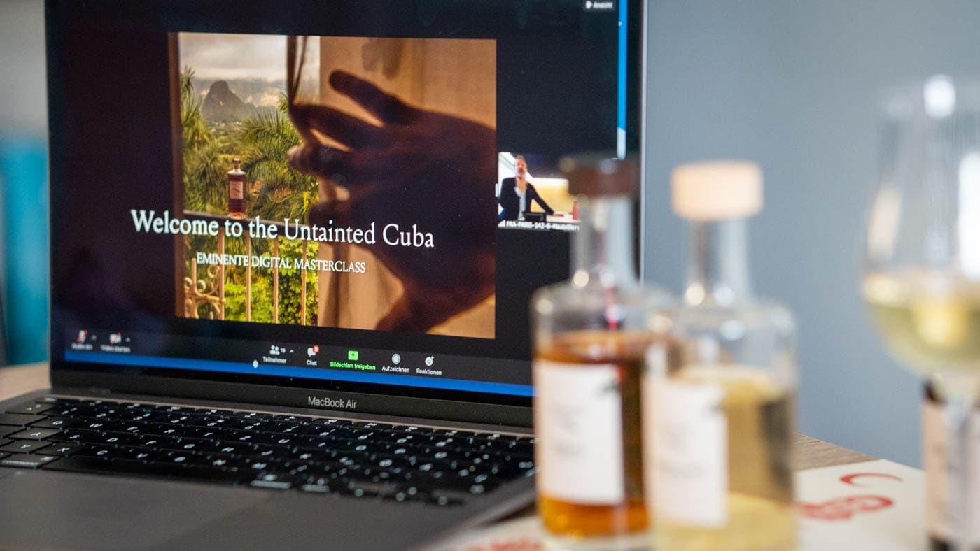 Eminente Rum Tasting
