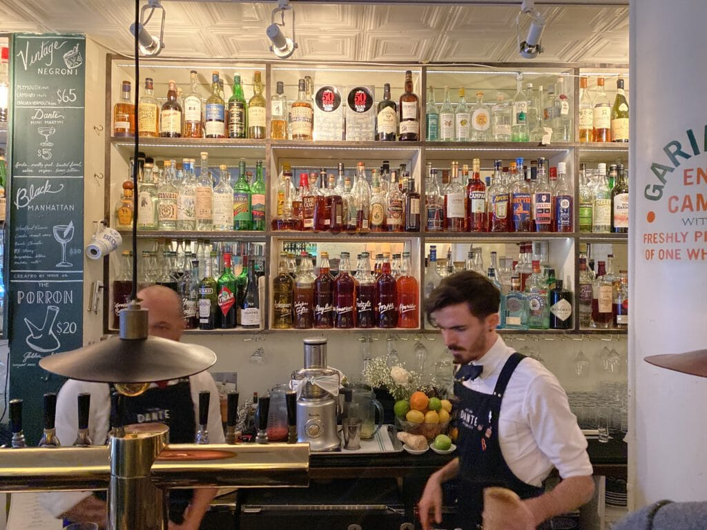 bar dante in new york ii