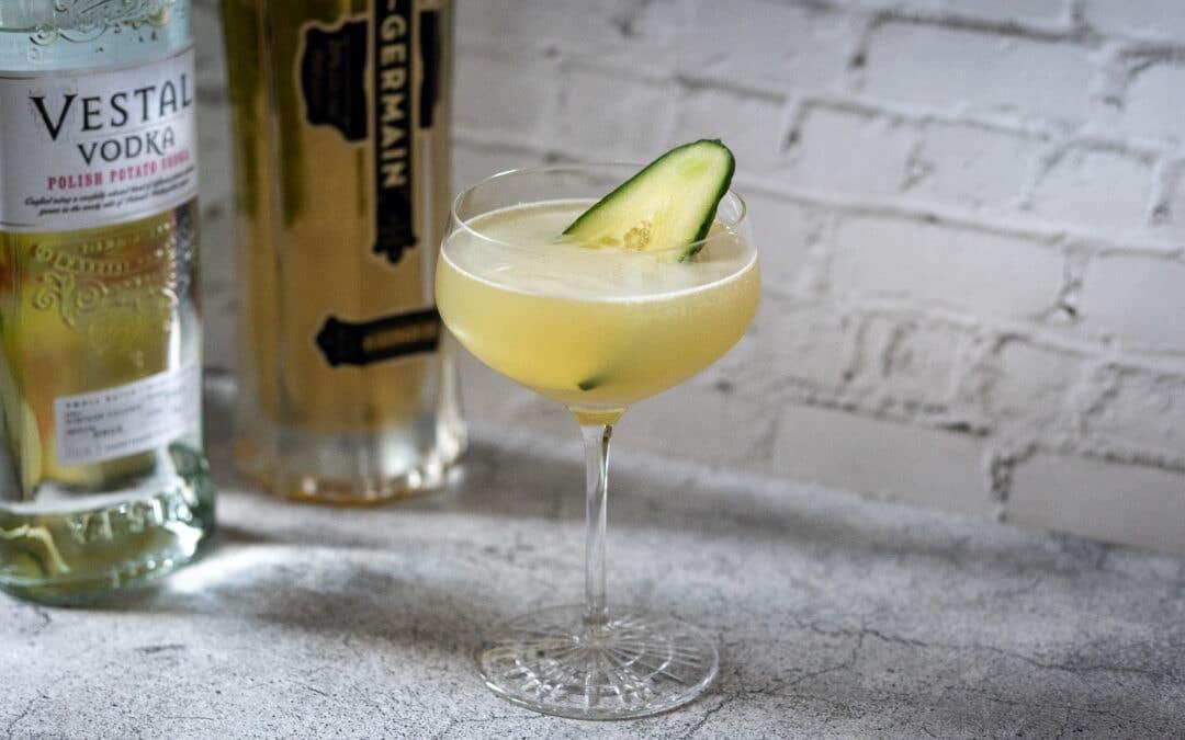 Le Gurk: In diesem Cocktail ist die Gurke der Star