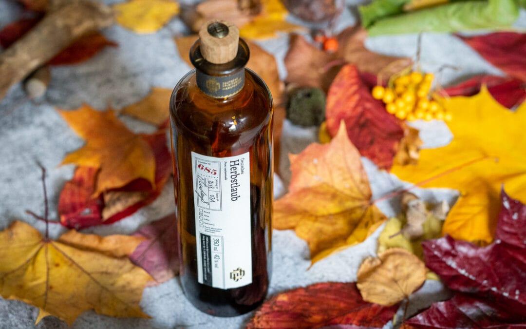 Herbstlaub der Deutschen Spirituosen Manufaktur