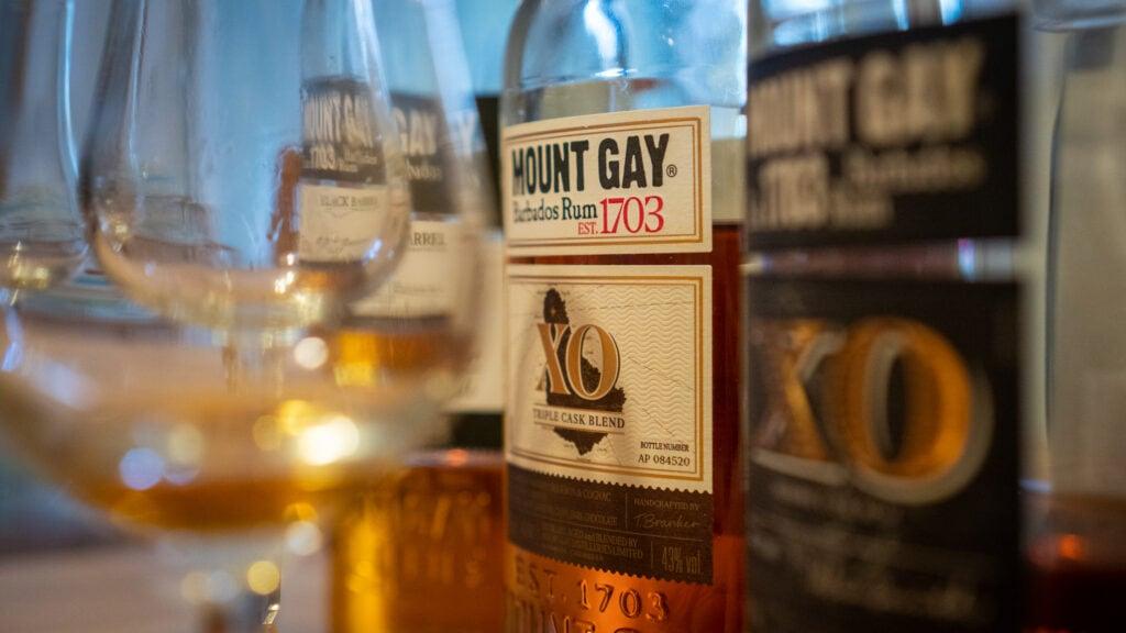 Nahaufnahme Mount Gay