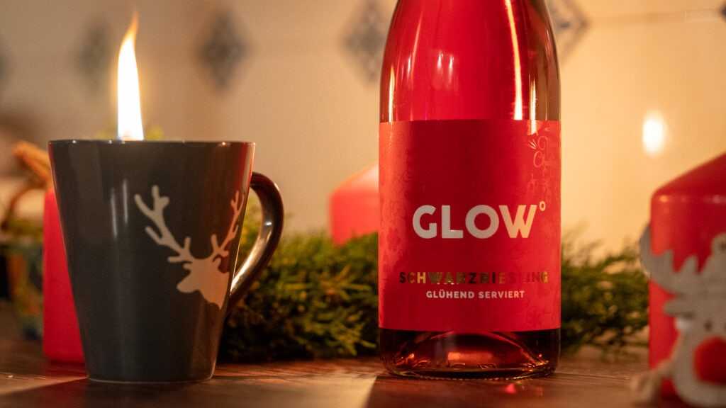 Glow Glühwein rose detail