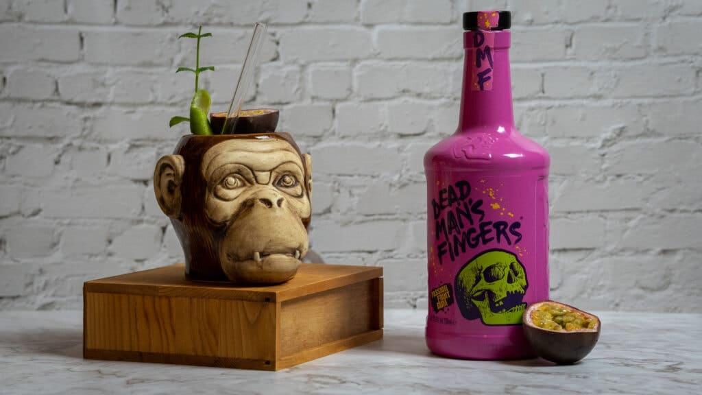 Dead Mans Fingers Passionfruit Rum Drink