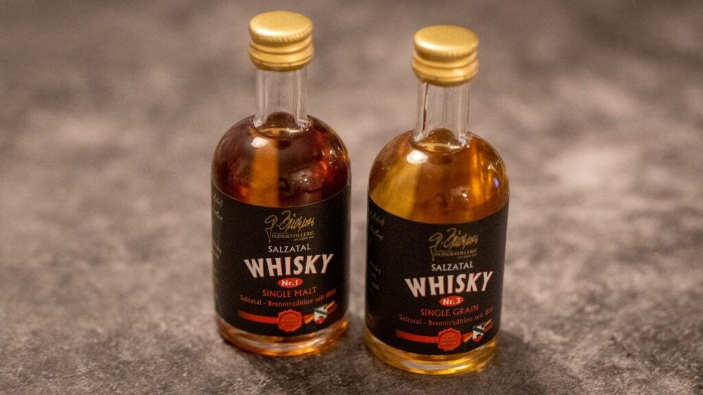 Beide Salzatal-Whiskys