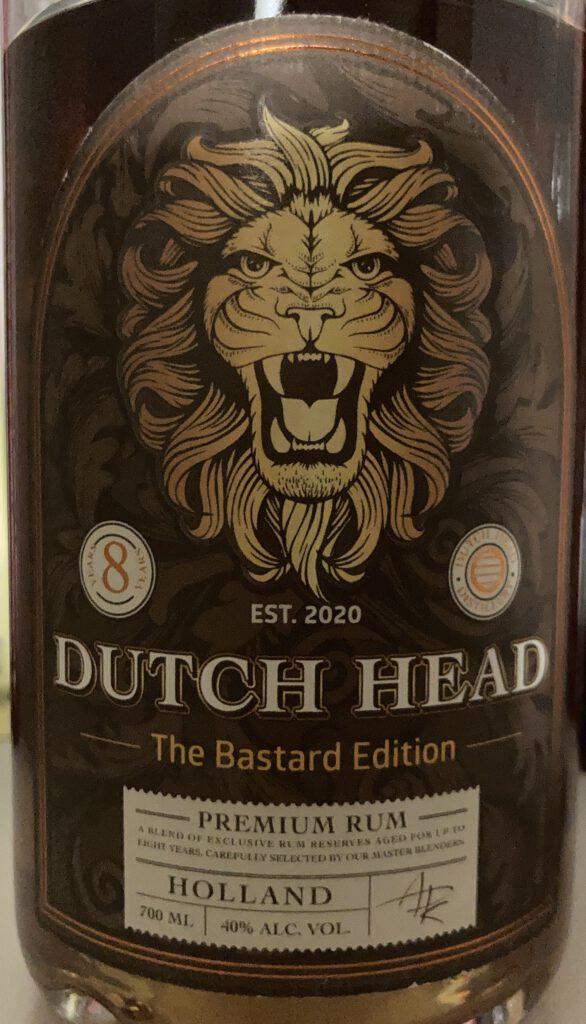 dutchhead rum etikett