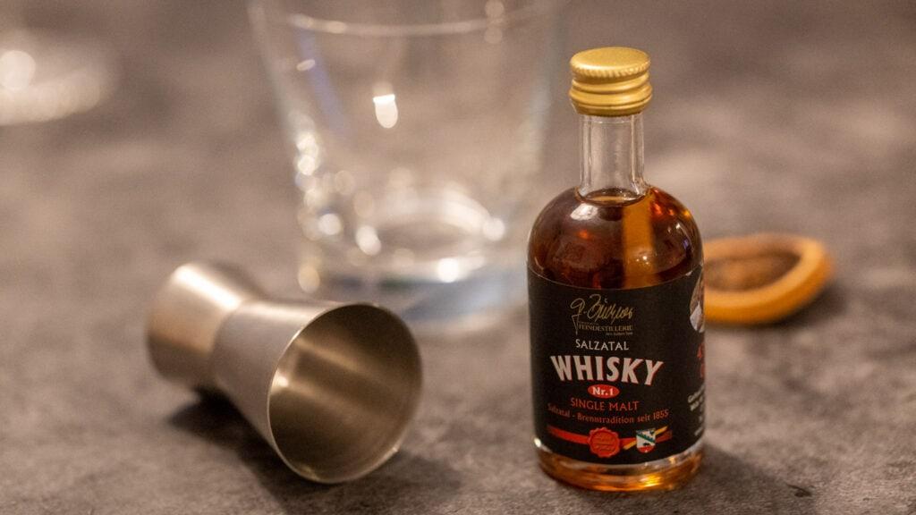 Salzatal Whisky Miniatur Nr. 1