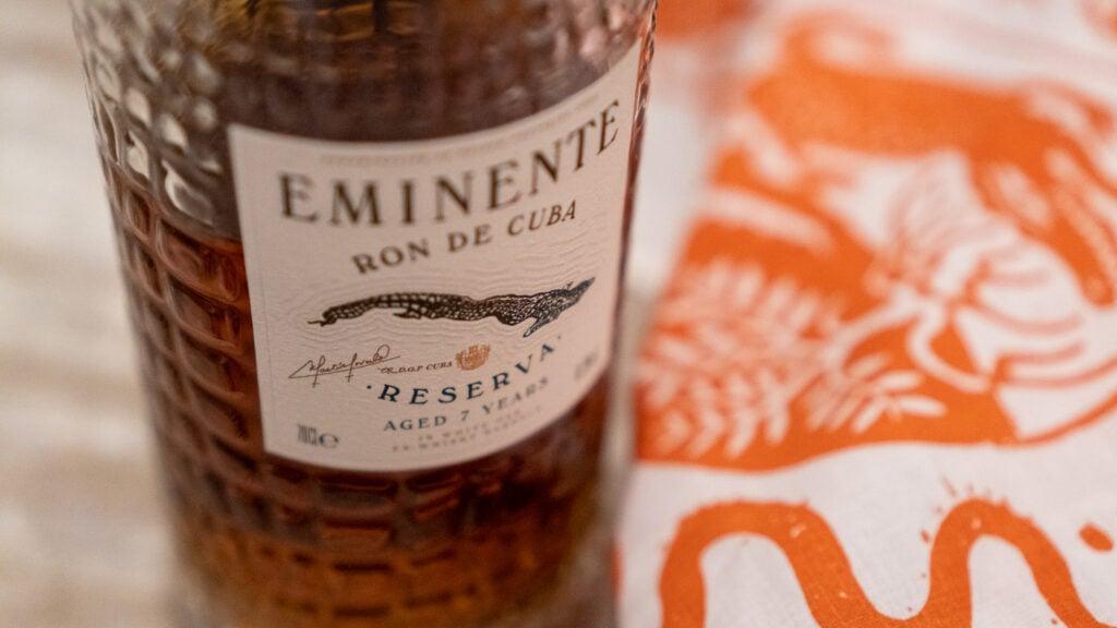 Eminente Rum Etikett
