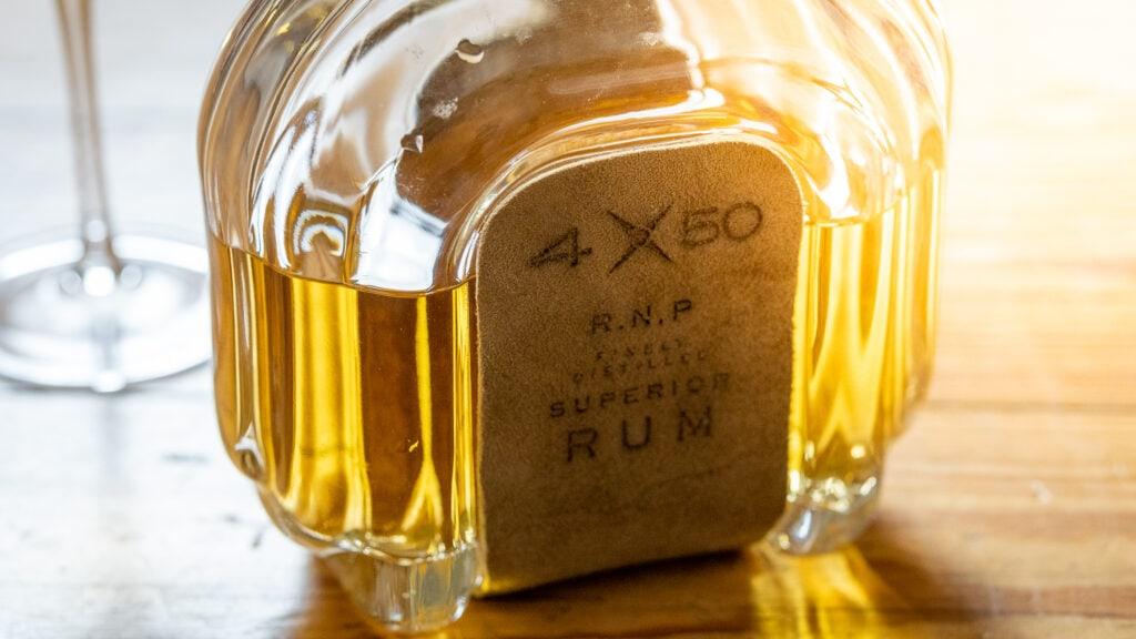 Der 4X50 Rum hat keine Altersangabe