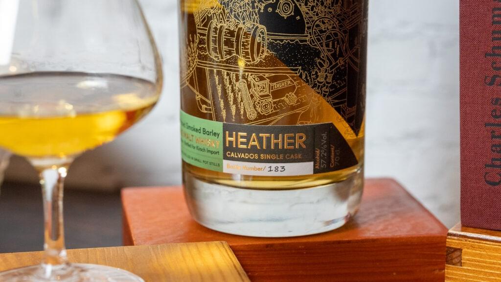 STauning Heather Calvados mit Glas