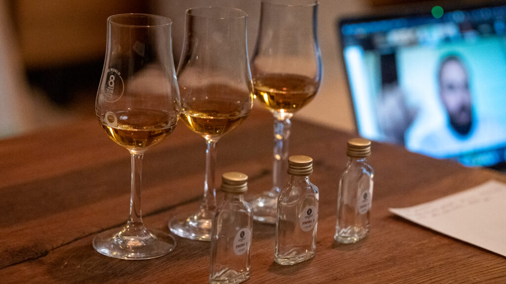 Barikenn Rum im Glas