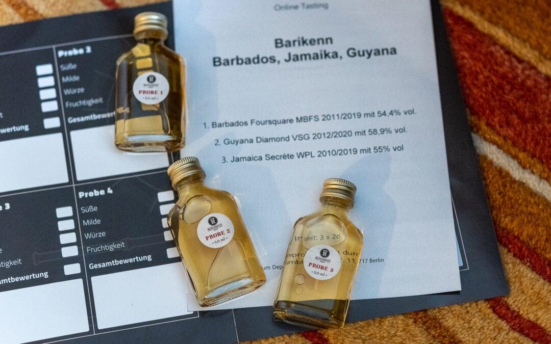 Barikenn Rum im Test – Jamaica, Guyana und Barbados im Vergleich