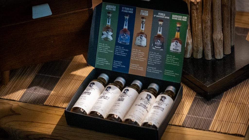 Bellamys Rum Übersicht