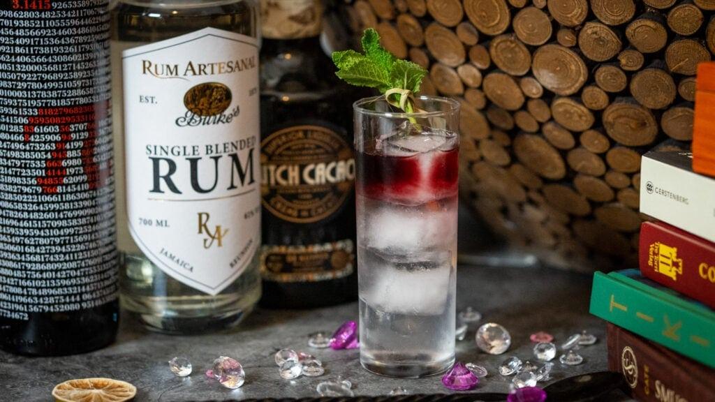 Burkes Blood Cocktail mit Dutch Cacao