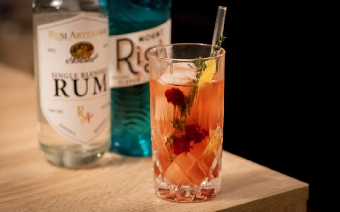 Schneeweißchen und Rosenrot – Himbeer trifft auf weißen Rum