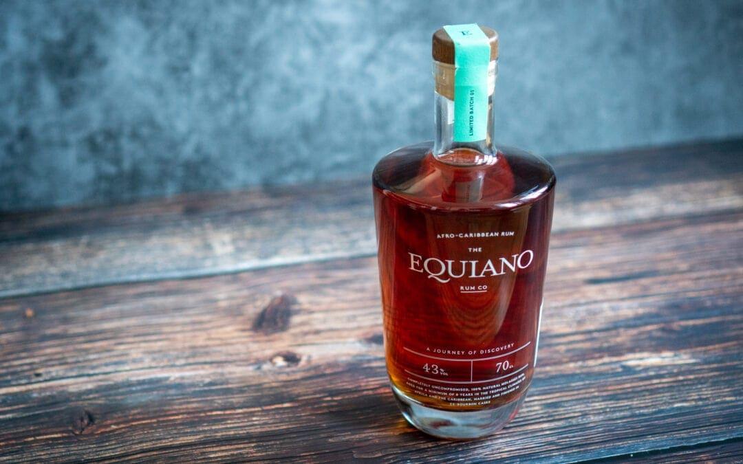 Equiano Rum Flasche