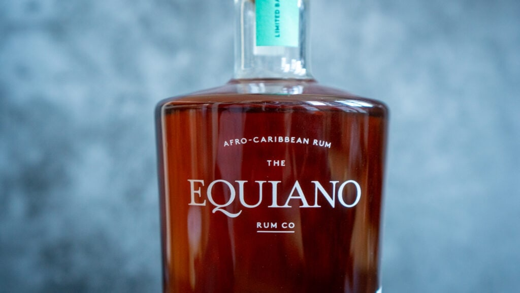 Equiano Rum Schriftzug