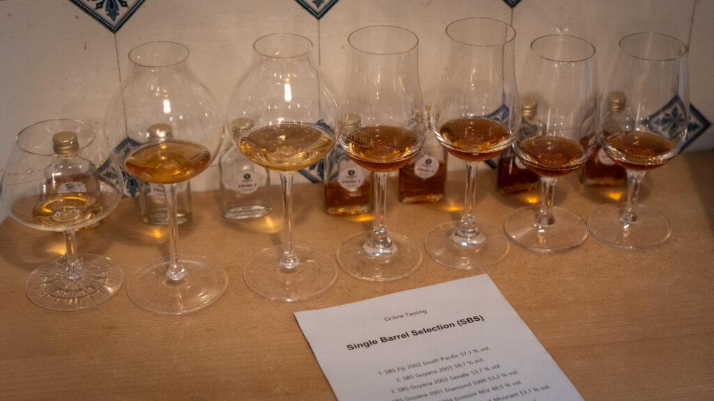 SBS Rum Gläser