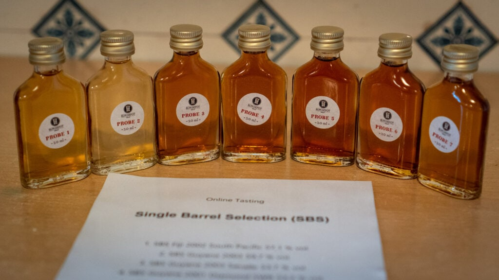 SBS Samples Rum-Depot