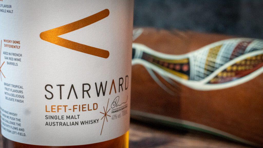 Starward Whisky Etikett