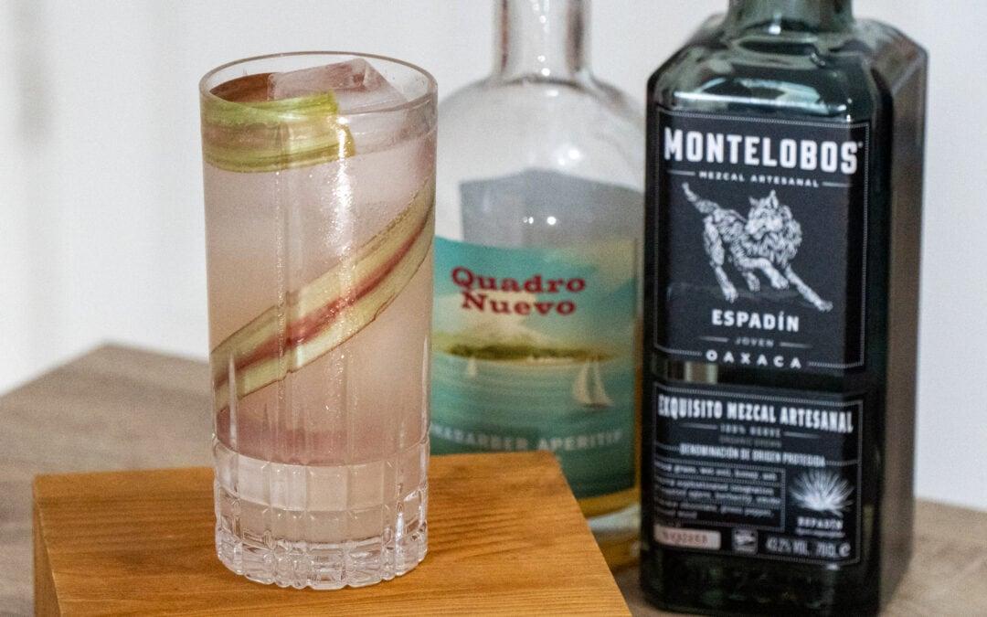 Garden Sour Cocktail – Rhabarber trifft auf Mezcal