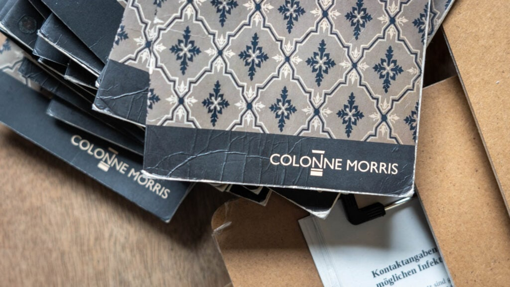 COlonne Morris Karte