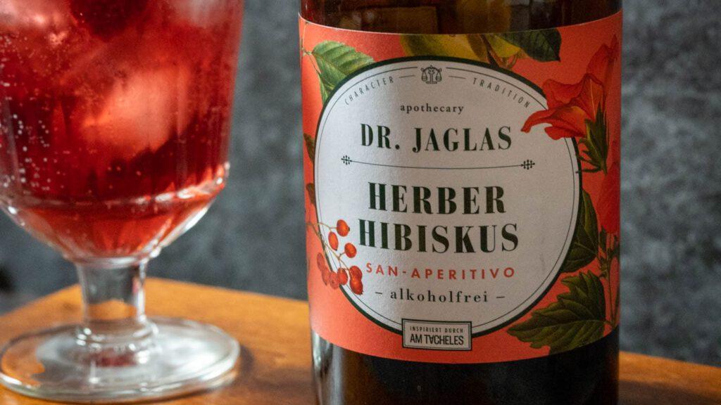 Dr. Jaglas Herber Hibiskus Etikett