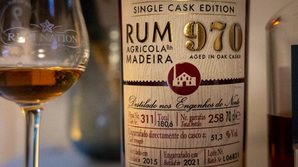 Rum Artesanal Madeira 970
