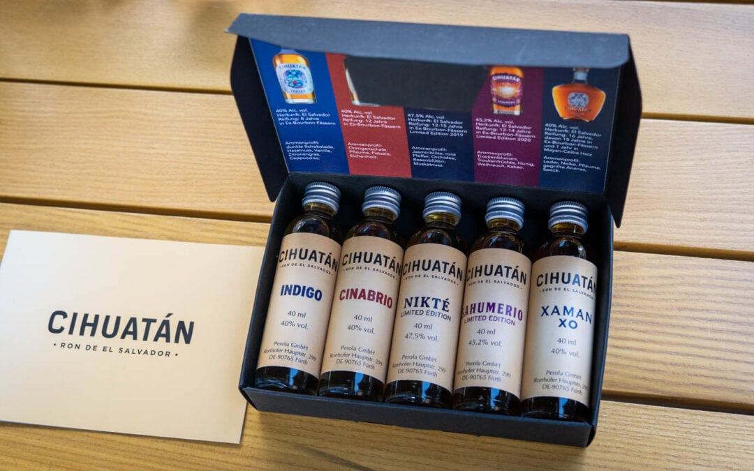 Ron Cihuatan Tasting – 5 Rum-Abfüllungen im Test