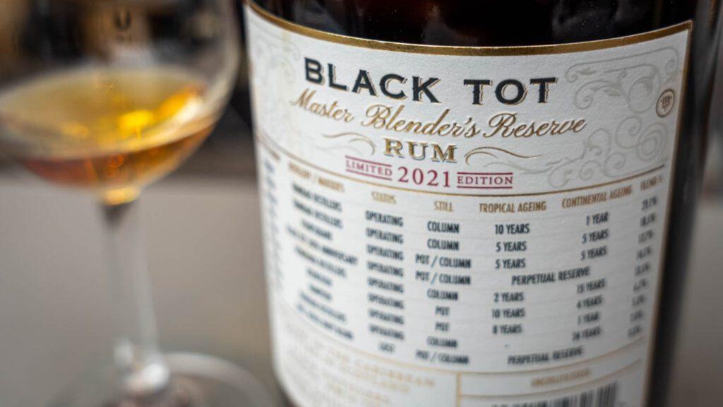 Black Tot 2021 Rum Back