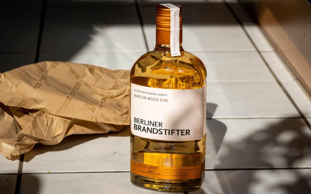 Berliner Brandstifter: Aged Gin 2021 im Test