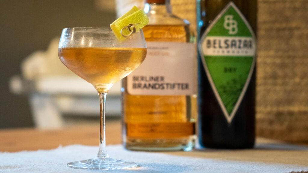 Berlin Aged Gin 2021 Martini