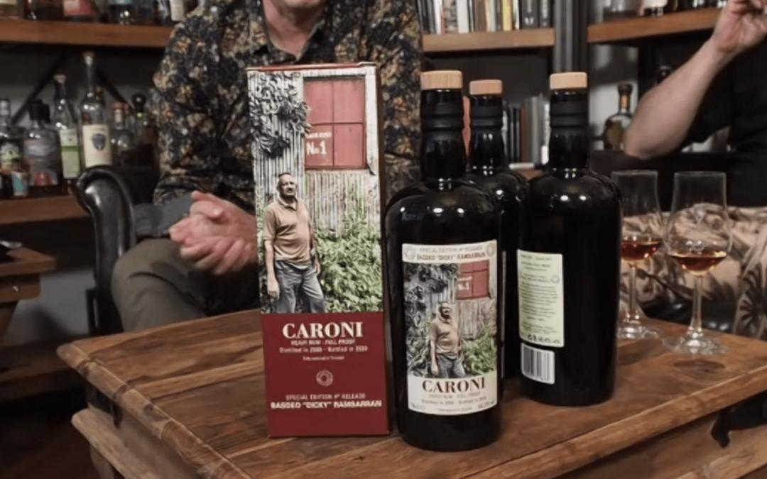 Caroni Tasting Flasche