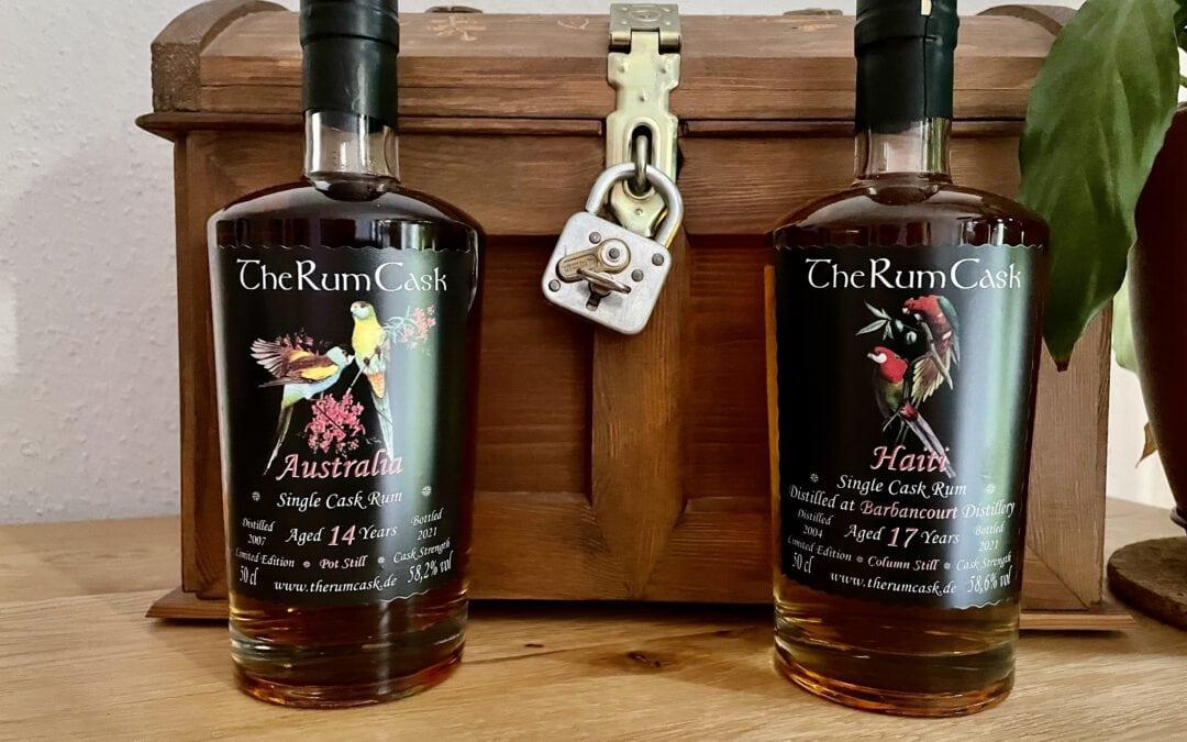 The Rum Cask Australien und Haiti – Zwei neue Abfüllungen im Test
